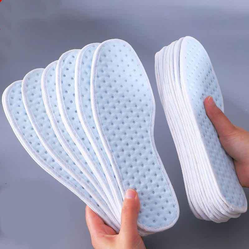 除臭鞋垫女男透气吸汗防臭留香软底舒适超软皮鞋鞋垫子