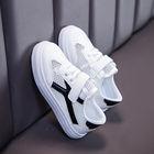 小白鞋女童板鞋透气软底运动镂空休闲鞋网鞋