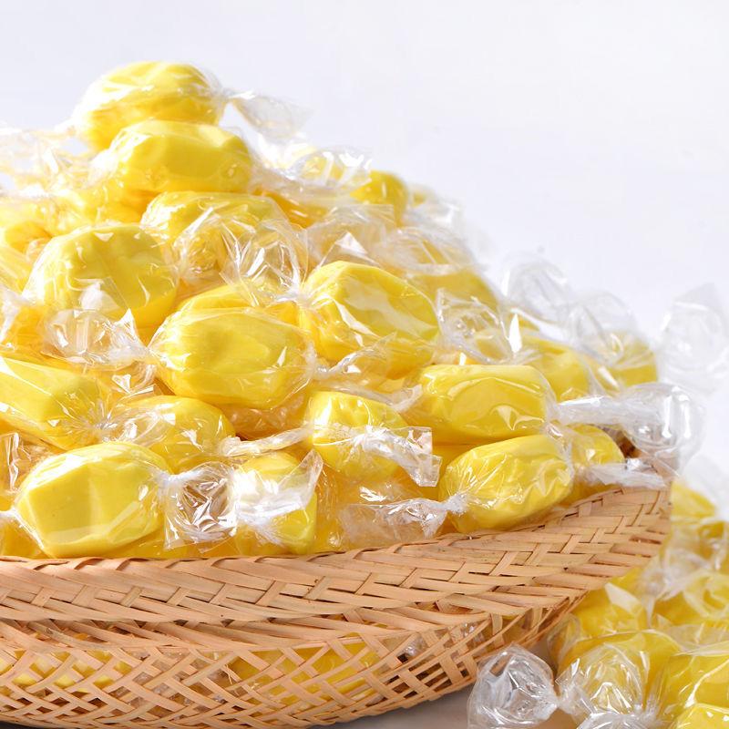特价榴莲软糖喜糖泰国风味特浓榴莲软糖果休闲零食牛奶糖水果味糖