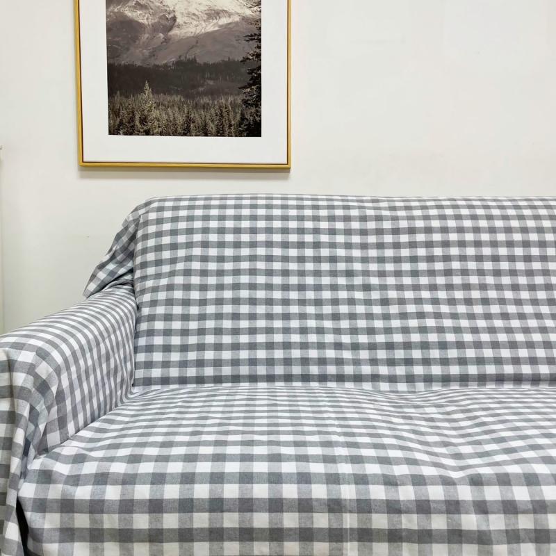 老粗布套罩防滑沙发垫坐垫椅垫沙发