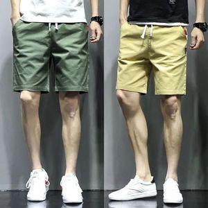 短裤男士休闲薄款大码五分裤夏季工装裤子