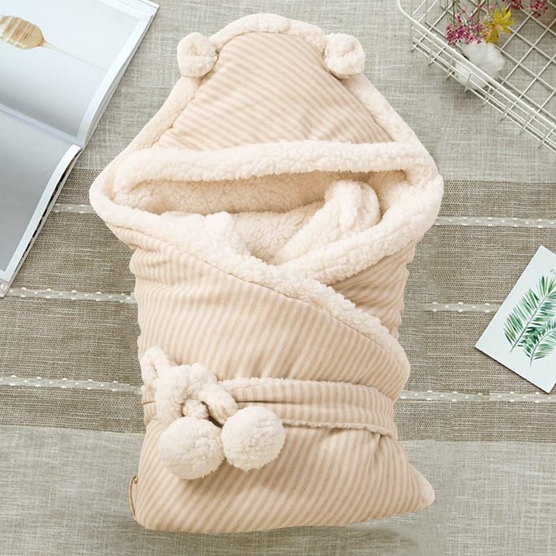 Chăn trẻ sơ sinh mùa đông dày ra cung cấp túi bé chăn mùa thu và mùa đông sơ sinh trẻ sơ sinh chăn ấm chăn sơ sinh - Túi ngủ / Mat / Gối / Ded stuff