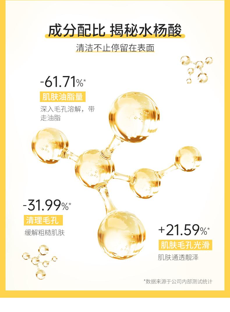 荣晟 水杨酸清洁面膜100g*2盒 图6