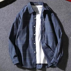 韩版风格男士衬衫宽松潮流长袖