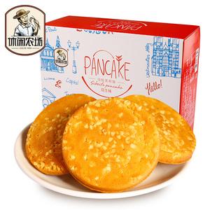 休闲农场 花生鸡蛋煎饼580g