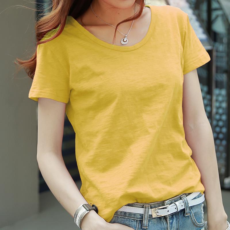Лимонно-желтый круглый воротник )
