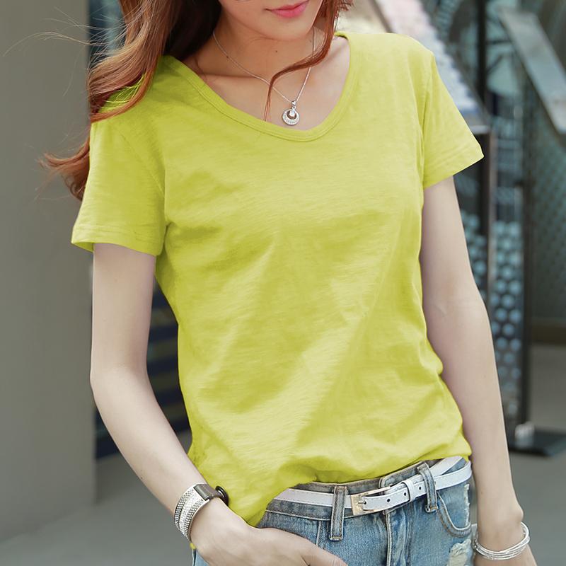 Яркий желтый (V-образный вырез)