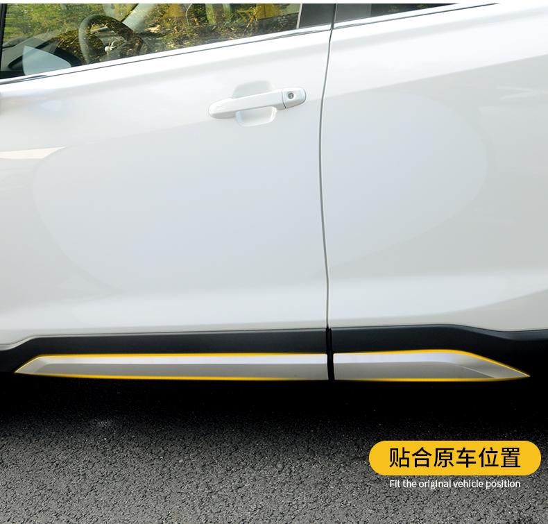 Ốp cản trước sau và nẹp sườn Subaru Forester 2019- 2020 - ảnh 12