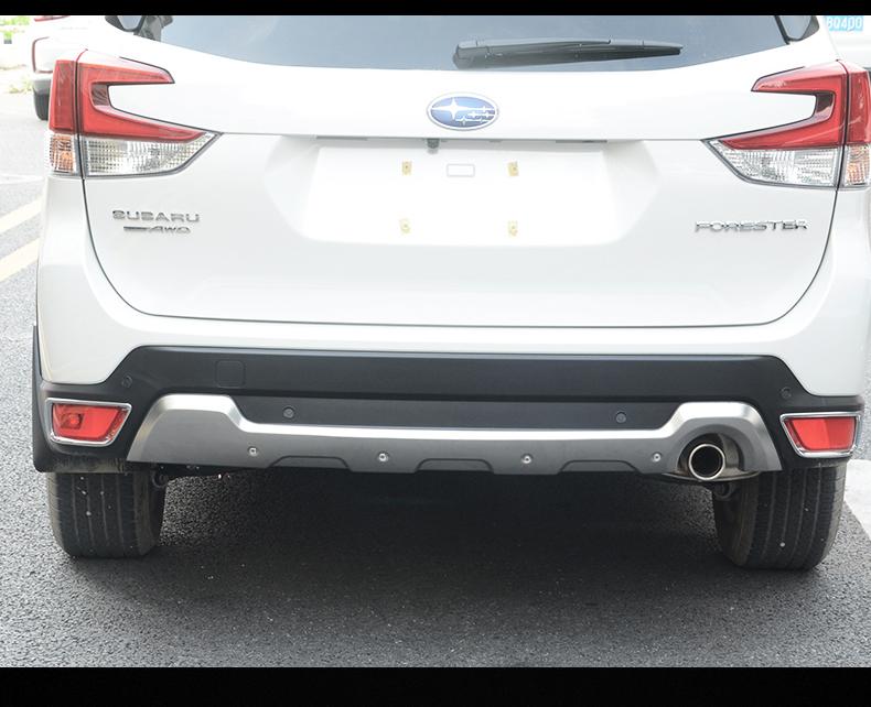 Ốp cản trước sau và nẹp sườn Subaru Forester 2019- 2020 - ảnh 6
