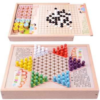 Настольные игры,  Играть лотков и лестниц. ребенок шашки многофункциональный игра шахматная доска ученик пять сын шахматы шахматы джунгли шахматы головоломка игрушка, цена 252 руб