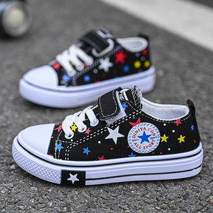 Мальчиков холст обувь 2021 новая весна и лето стиль обувь дочь ребенок обувь обувь casual воздухопроницаемый обувь в больших детей обувь