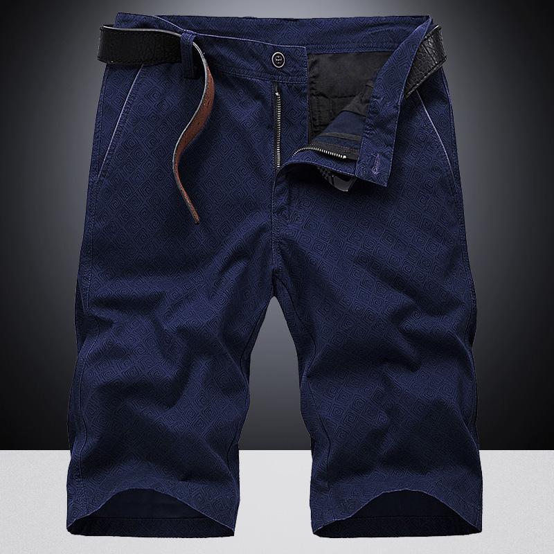 2018 mùa hè mới quần short nam năm điểm quần thủy triều mùa hè cắt quần lỏng kích thước lớn quần âu quần