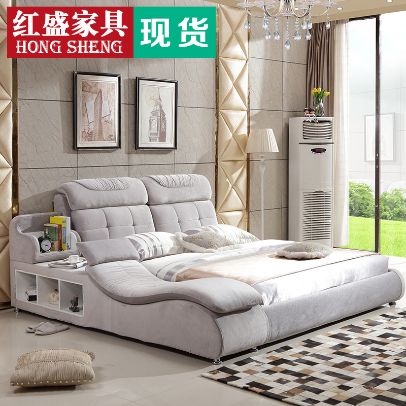 Usd Cloth Bed Tatami Removable Cloth Bed Massage Modern Simple 1 8 M Double Multi