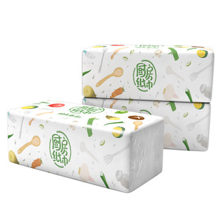 [plant protection] kitchen cleaning paper oil absorption paper 3 packaging