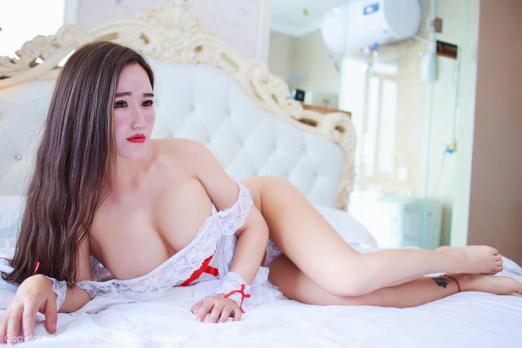 [YouWu尤物馆] 2019.07.25 VOL.153 性感的蕾丝装扮 王紫琳