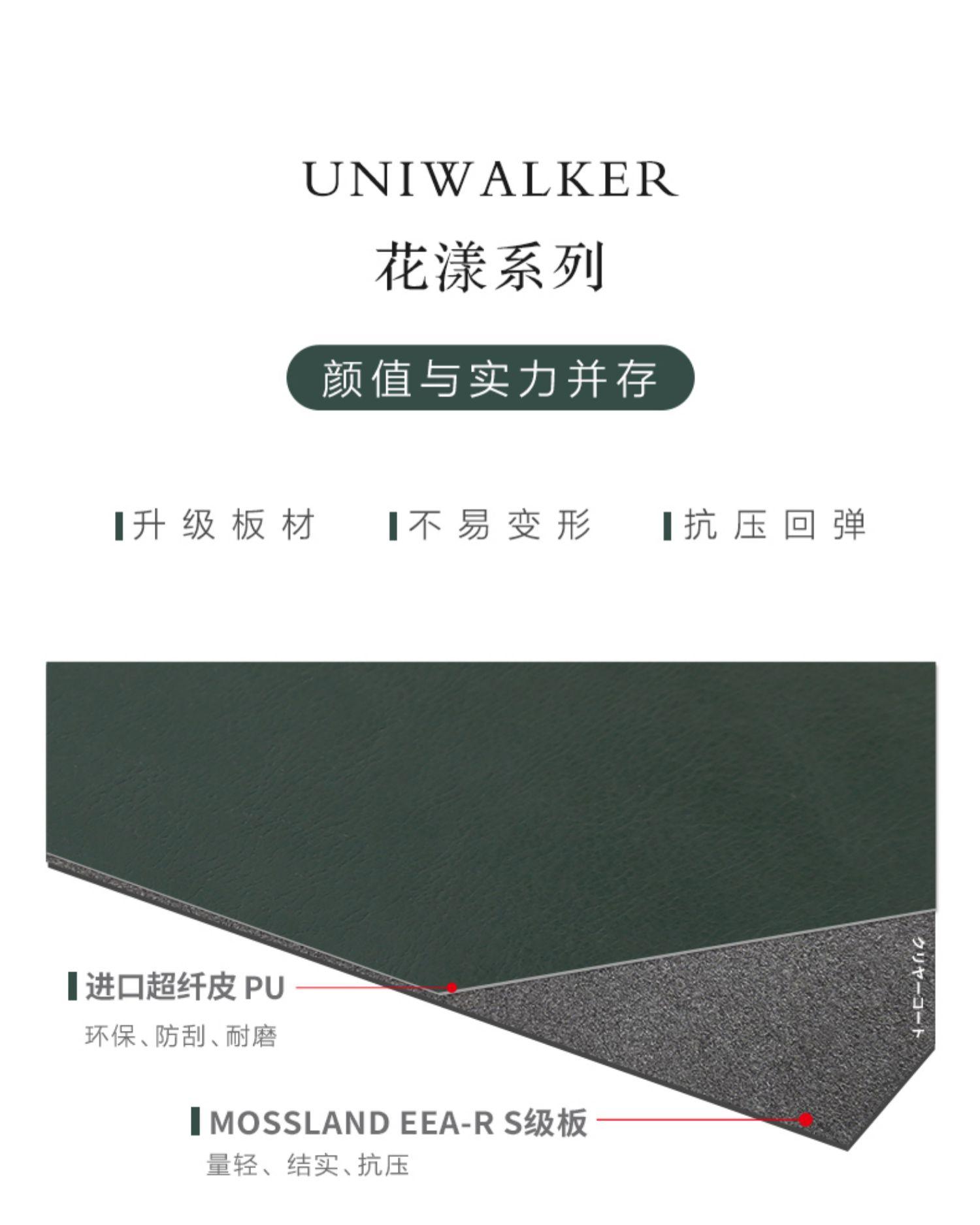 uniwalker日韩复古拉杆箱万向轮旅行箱男女行李箱20寸密码登机箱商品详情图
