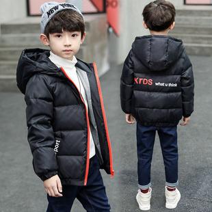 儿童连帽加厚羽棉服外套