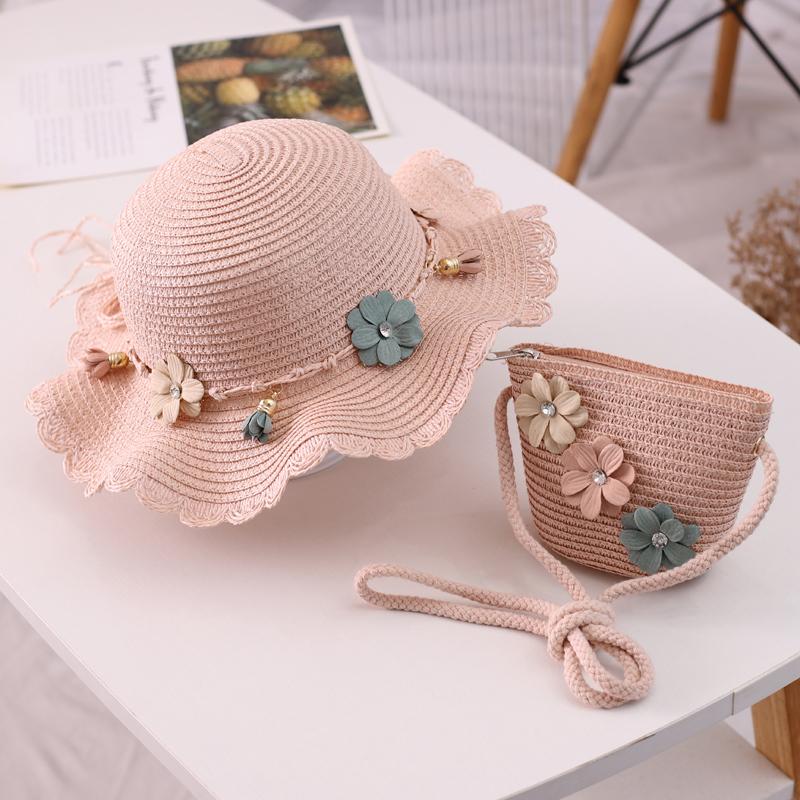 【2-10岁+成人款】儿童帽子沙滩遮阳帽