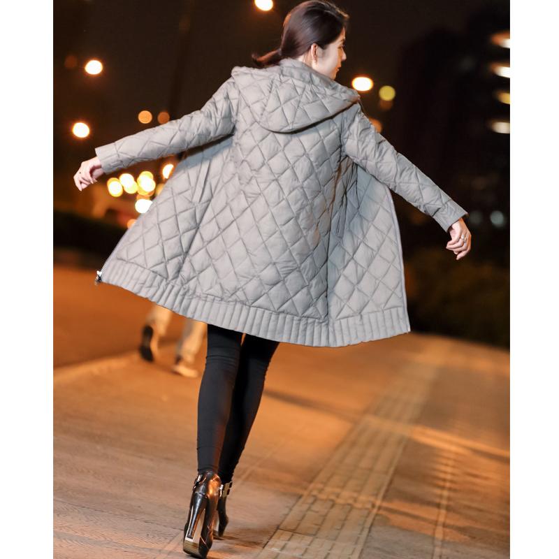 女式棉袄女2018新款棉衣服女冬季反季羽绒棉服女中长款加厚外套女