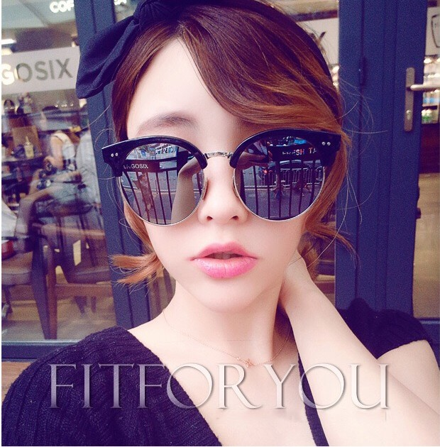 bf029cbfa3 USD 42.77  Li Yi Feng Wu Yifan star with sunglasses female 2017 tide ...
