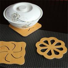 【2片大号】木质餐垫隔热垫防烫垫锅杯垫