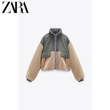 Полупальто,  ZARA новый  TRF женщины сращивание куртка пальто  04341735721, цена 6075 руб