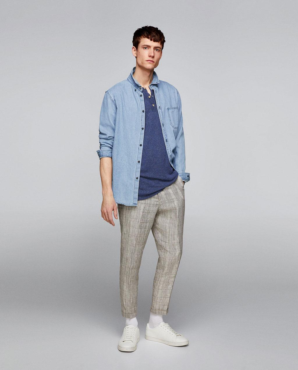 Thời trang nam Zara  24003 - ảnh 3
