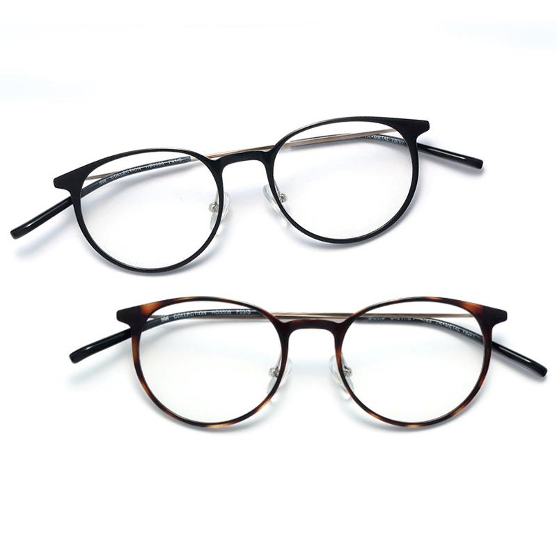 复古文艺圆框近视眼镜