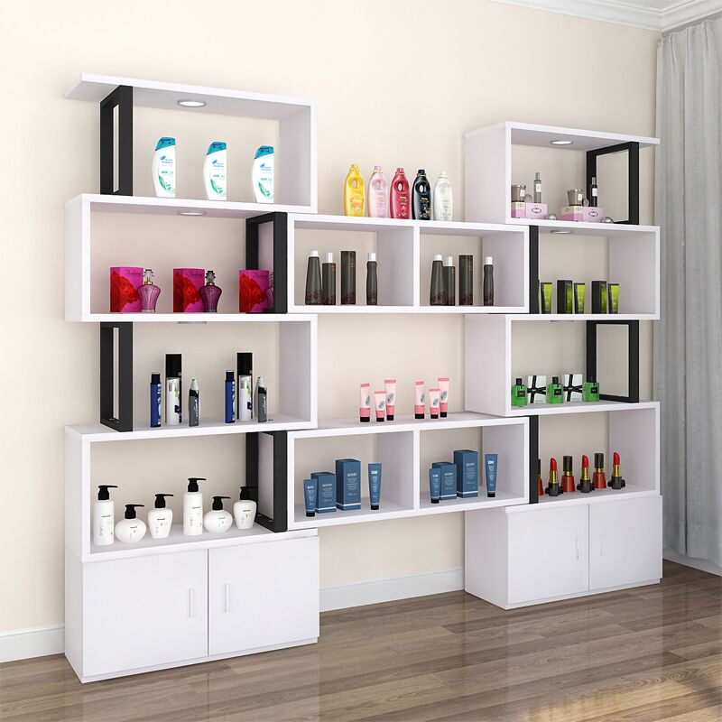 Beauty Salon Cosmetics Showcase Free Combination Display Case Product Rack Shoe Shelf Jewelry Cabinet