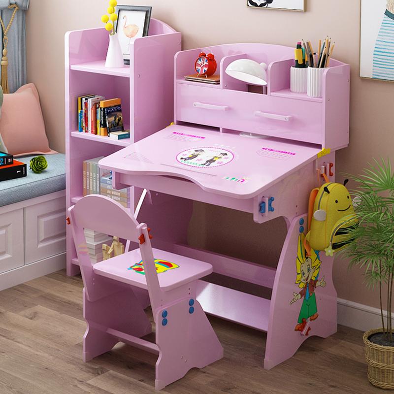 Ребенок письменный стол книжный шкаф сочетание ребенок стол отправить набор одеть небольшой студент запись стол мальчик девушка детский сад