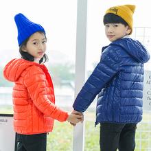 童装儿童轻薄棉衣中大童秋冬外套