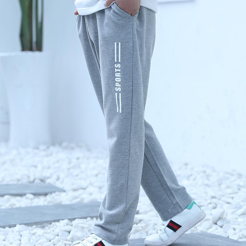 2018新款童装男童裤子儿童夏季休闲运动裤中大童夏款男孩薄款长裤