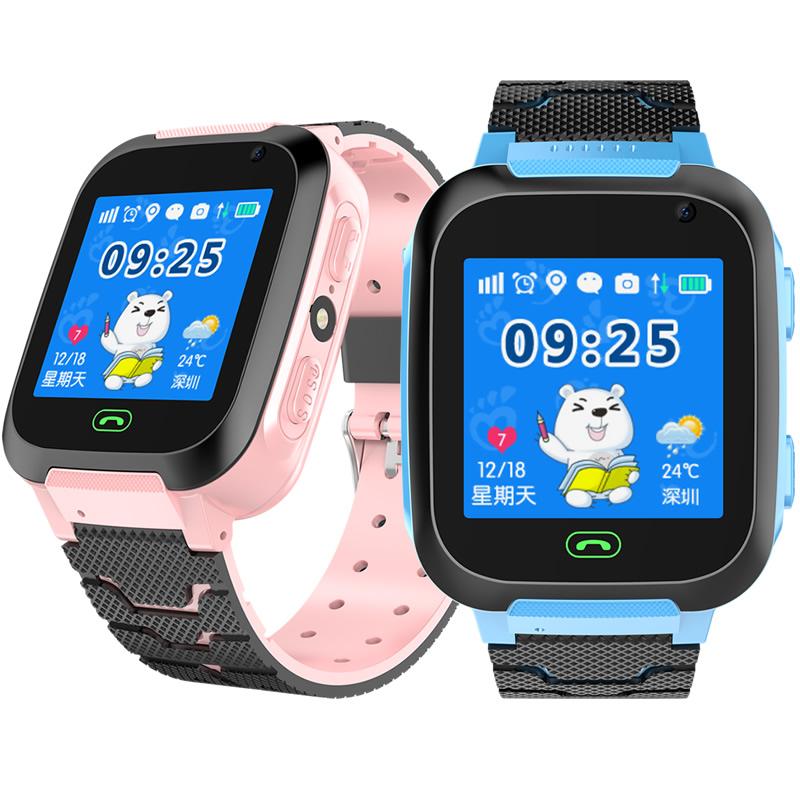 儿童电话手表智能gps定位学生防水男女孩小孩子天才通话