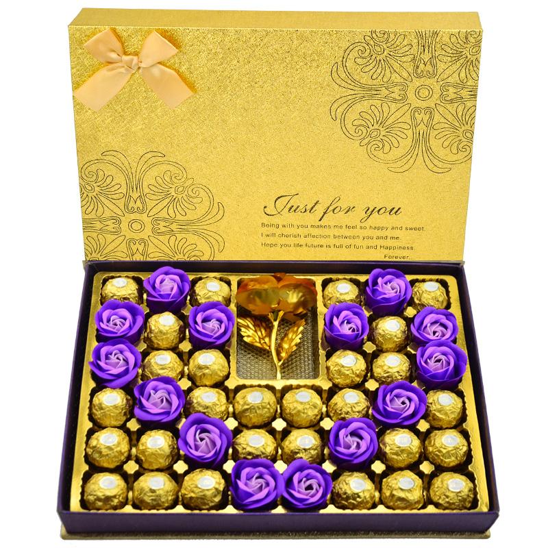 浪漫佳礼# 费列罗 巧克力礼盒装12颗