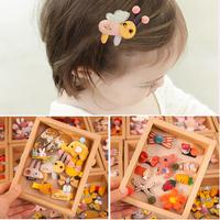 Детские Аксессуары для волос на девочку головной убор корейский Милый милый детские для маленькой принцессы Заколка для волос маленькая девочка на младенца Выпуск карты