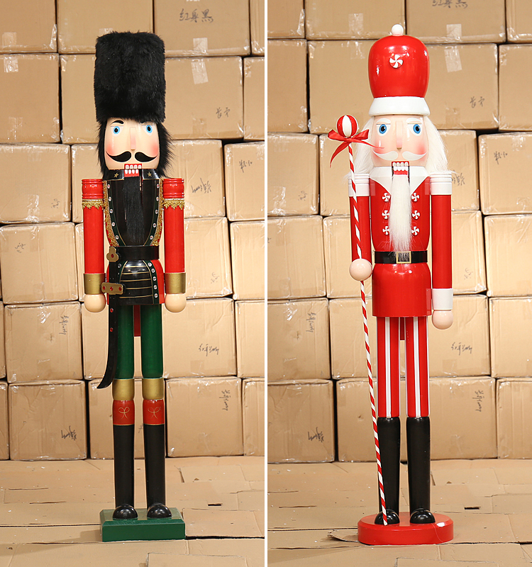 Nutcracker drummer soldier statue large tall big outdoor for 4 foot nutcracker decoration