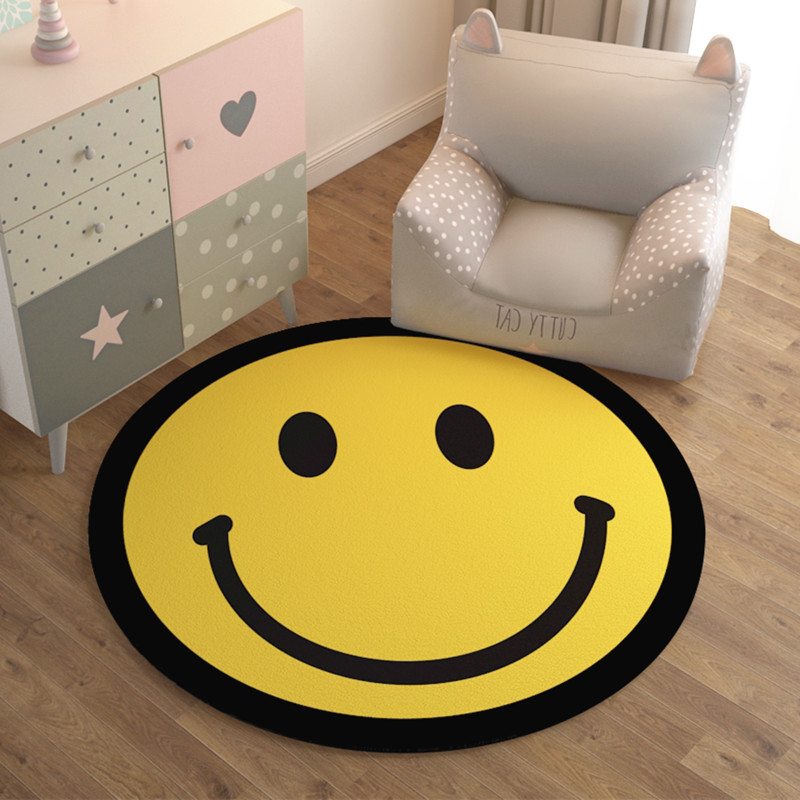 Bright Yellow Smiley Face