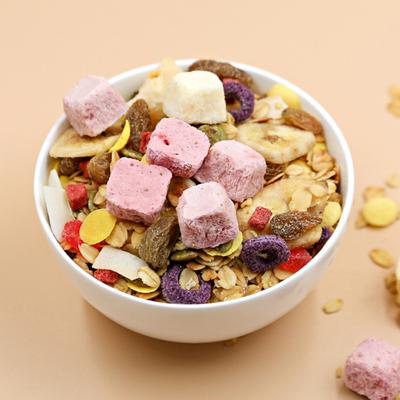 俏味观酸奶果粒干吃既食水果坚果燕麦片孕妇饱腹营养代餐早餐420g