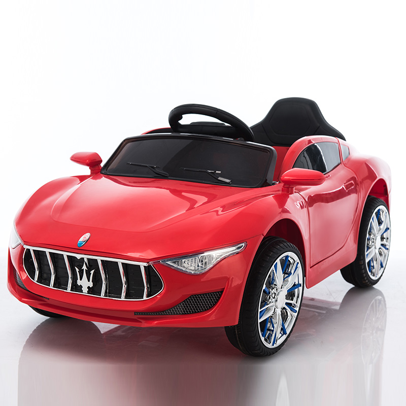 STANDARD RED: DOUBLE DRIVE DUAL POWER + SELF-DRIVING + REMOTE CONTROL   PLASTIC SEAT
