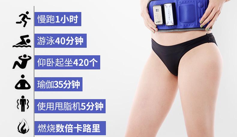 懒人全身甩脂机燃脂瘦身腰带减腹部瘦肚子大减肥神器瘦腰暴瘦器材商品详情图