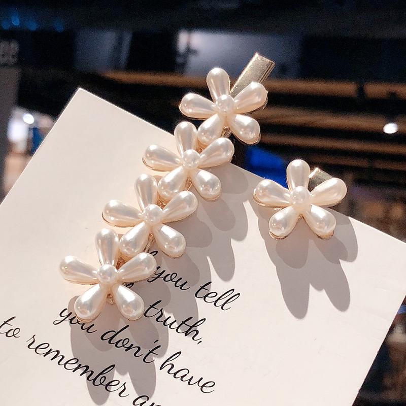 Fashion Beads Flower Hair Accessories NHOF120945
