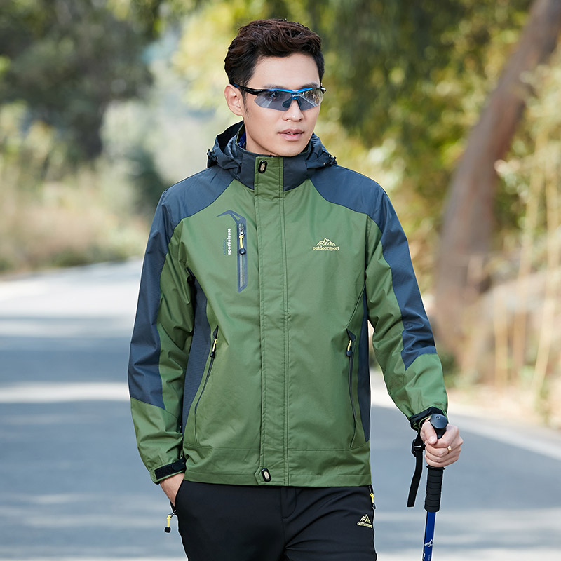 20 мужской зеленый демисезонный стиль