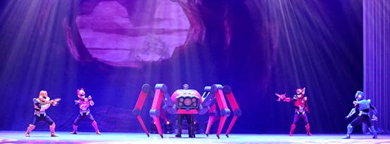 八喜•2021打开艺术之门系列全国正版授权大型机甲变形舞台剧《迷你特工队》-大连站