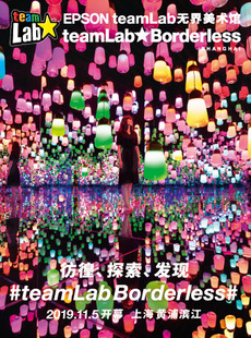 teamlab无界美术馆:teamlab Borderless Shanghai EPSON