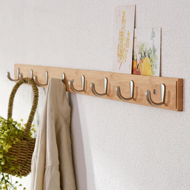 Искусство ива сад вешалка настенный вход весить одежду крюк дерево легко спальня вешалка творческий стена одежда полка подключить