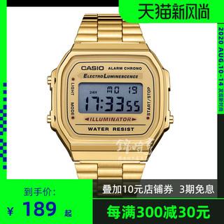 Заграница прямая почтовая рассылка кейси европа CASIO наручные часы оскар стол кубики ретро электронный мужские часы женская форма A168WG-9W, цена 3979 руб