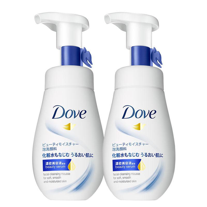 【升级款】多芬神经酰胺洗颜慕斯2瓶