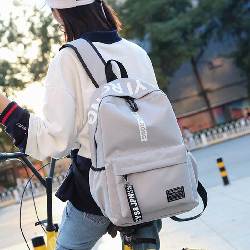 ... high school students  Share. Schoolbag female Korean version of  Harajuku Ulzzang campus Hong Kong wind shoulder bag Street Beat trendy fde70b0a75