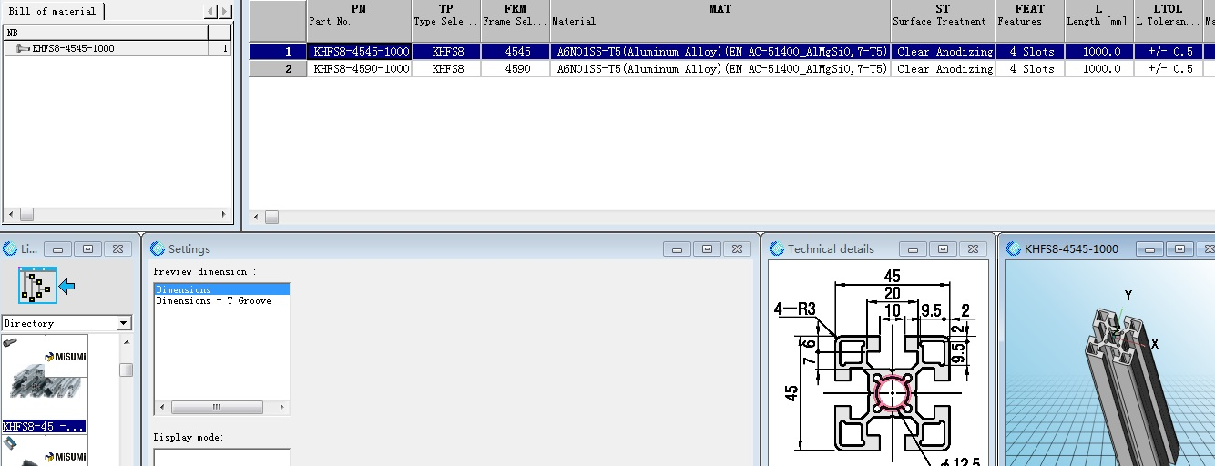 米思米MISUMI 2018FA/3D选型软件 pdf CAD 样本 |solidworks标准件库
