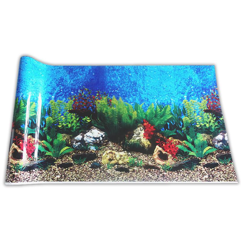 Fish Tank Hanging Painting Aquarium Background Paper